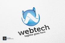 Webtech / 3D Letter W - Logo