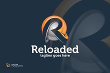Reloaded / 3D Letter R - Logo