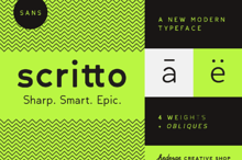 Scritto Sans Font Family