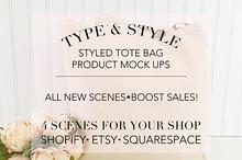 Tote Bag Styled Stock Photo Bundle