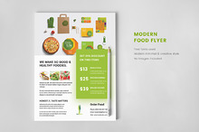Food Flyer - Minimal Modern Creative