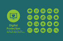 Digital Protection icons