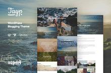 Tayp WP - WordPress Blogging Theme