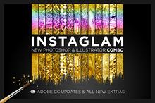 InstaGlam Ps+Ai Creative Cloud Combo