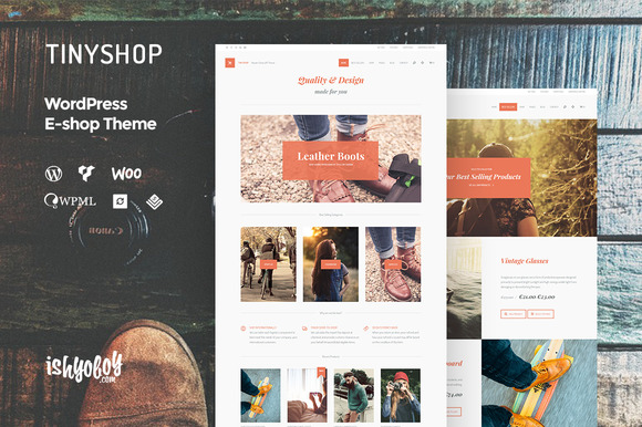 TinyShop WP – WordPress E-shop Theme