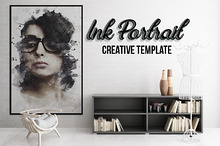 Ink Portrait - Creative Template