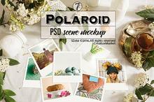 Polaroid stock images, teatime