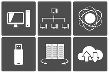 Network and Mobile Connections Icons