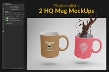 2 HQ Mug MockUps