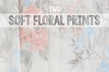Soft Floral Prints