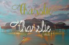 Charslie Handwriting