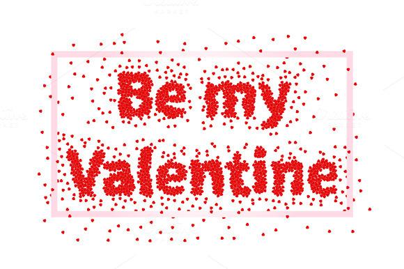 Valentines Day. Be my Valentine - Illustrations