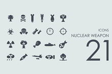 21 Nuclear Weapon icons