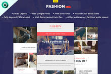 Fashion - E-Newsletter PSD