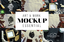 Art & Work Essential Mockup