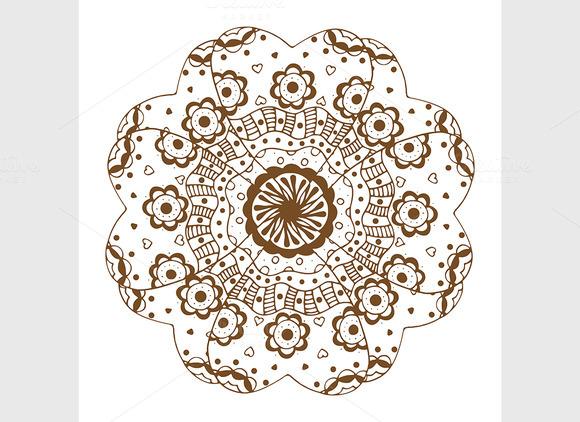 Floral Ornament Mandala