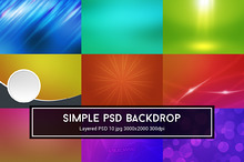 Simple PSD Backdrop