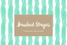 Brushed stripes patterns 18 pack