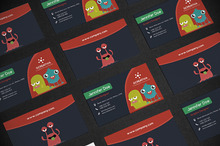 Business Card Monsters