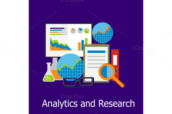 Analytics And Research Concept
