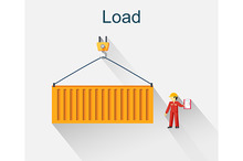 Load Container Icon Design Style