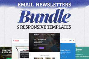 Responsive E-mails BUNDLE | 80% OFF