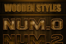 Wooden Layer Styles