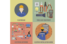 Electricians and electrical work