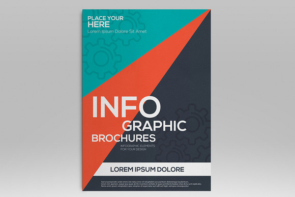 Infographics Elements For Brochures