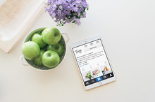 Kitchen iPad Mockup | PSD included