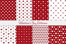 Valentine's day patterns set