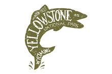 Yellowstone Fishing Label