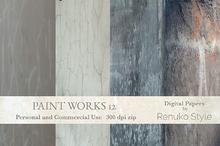 Paint Works 12 Digital Backgrounds