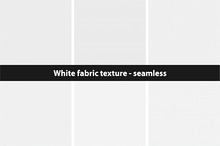White textures - seamless collection