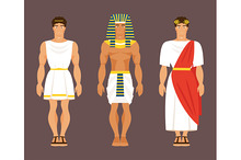 Ancient Greek, Egyptian and Roman