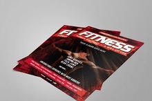 Fitness / Gym Flyer Vol.7