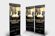 Exclusive Night Roll Up Banner Vol.1