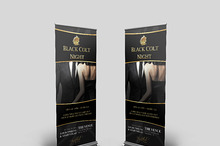 Exclusive Night Roll Up Banner Vol.2