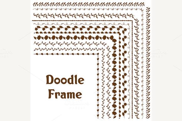 Vector Frame Doodle