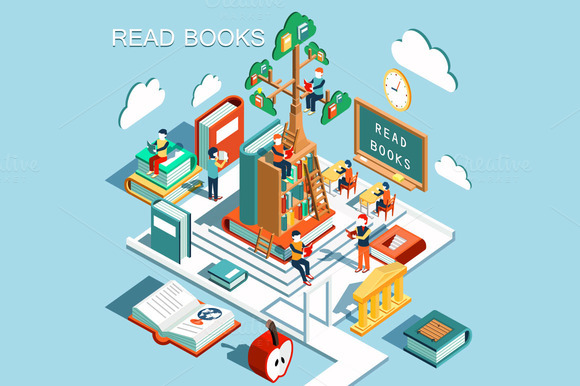 The Concept Of Learning Read Books