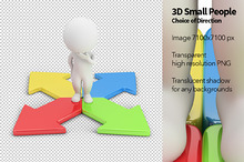 3D Small People - Choice