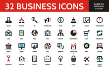 Business Icons - Vector Set