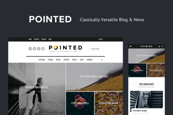 Pointed - Versatile Blog/News Theme - Magazine