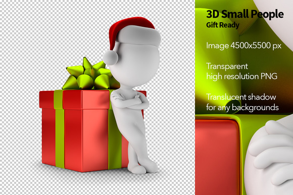 3D Small People Gift Ready