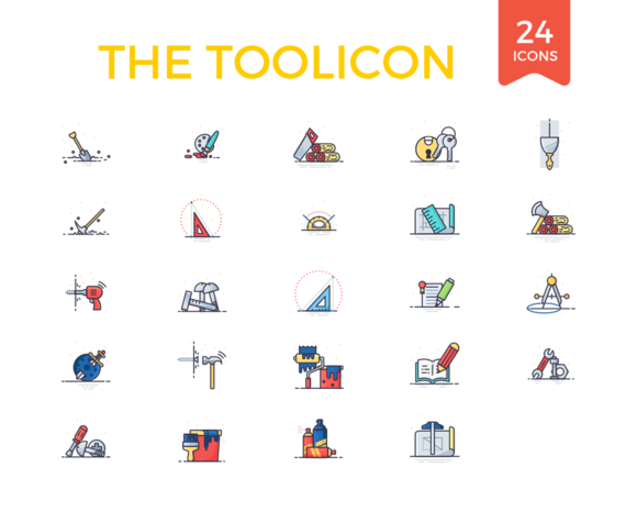 24 Toolicons