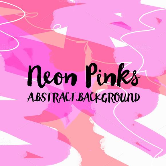Neon Pinks Texture Background