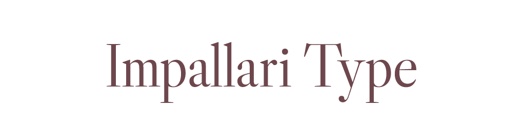 Impallari Type