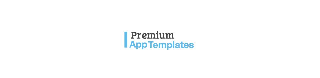 Premium App Templates