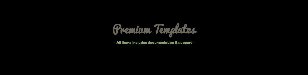 Premium Templates & Other