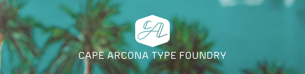 Cape Arcona Type Foundry